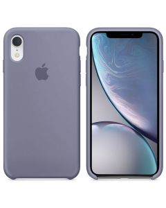 Чехол Soft Touch для Apple iPhone XR Levender Gray (Original)