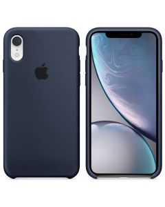 Чехол Soft Touch для Apple iPhone XR Midnight Blue (Original)