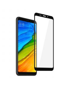Защитное стекло для Xiaomi Redmi 5 Plus 3D Black (тех.пак)