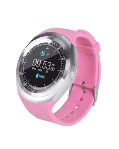 Смарт-часы Smart Watch Y1 Pink УЦЕНКА