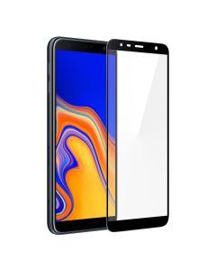 Защитное стекло для Samsung J4 Plus/J415/J6 Plus 2018/J610 5D Black (тех.пак)