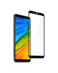 Защитное стекло для Xiaomi Redmi 5 Plus 5D Black (тех.пак)
