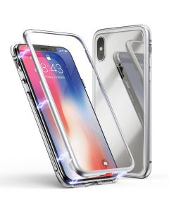 Чехол Magnet 360 Case iPhone XR Silver