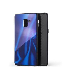 Silicon Mirror Case для Samsung J7/J700/J701/J7 Neo Blue Silk