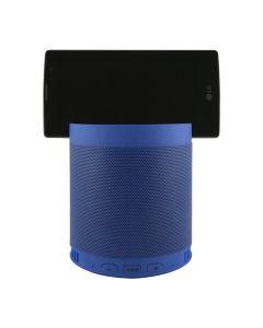 Портативная Bluetooth колонка HFQ3 + подставка Blue