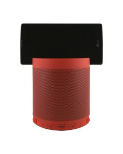 Портативная Bluetooth колонка HFQ3 + подставка Red