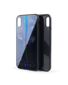 Silicon Mirror Case для iPhone 7/8/SE 2020 Hawk (фосфорные)