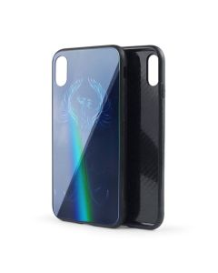 Silicon Mirror Case для iPhone XR Phoenix (фосфорные)