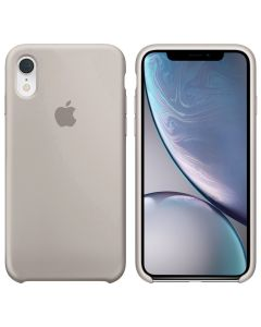 Чехол Soft Touch для Apple iPhone XR Stone (Original)