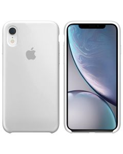 Чехол Soft Touch для Apple iPhone XR White (Original)