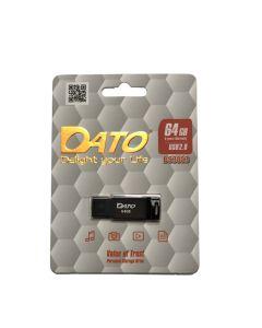 Флешка DATO 64 GB DS3003 USB 2.0 Black (DS3003B-64G)
