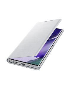 Чехол-книжка Samsung N985 Galaxy Note 20 Ultra LED View Cover White Silver (EF-NN985PSEG)