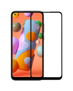 Защитное стекло для Samsung A11-2020/A115/M11-2020/M115 5D Black (тех.пак)