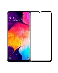Защитное стекло для Samsung A20/A30/A50/M30/A30s/A50s/M30/M31/M21 3D Black (тех.пак)