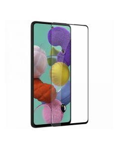 Защитное стекло для Samsung A71-2020/A715/M51/M515 3D Black (тех.пак)
