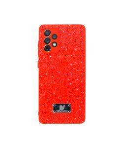 Чехол Swarovski Goospery Case для Samsung A72-2021/A725 Red