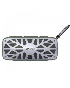 Портативная Bluetooth колонка Awei Y330 Green/Grey