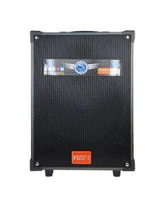 Портативная колонка BIG LT-912 Black + 2 микрофона