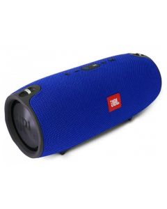 Портативная Bluetooth колонка JBL Xertmt S6 Max + Power Bank Blue (копия)