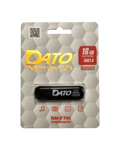 Флешка Dato 16Gb DS2001 Black USB 2.0