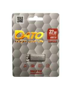 Флешка DATO 32 GB DS7002 USB 2.0 Silver (DS7002S-32G)