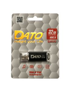 Флешка Dato 32Gb DS7012 Black USB 2.0