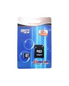 Карта памяти DATO 32 GB microSDHC Class 10 UHS-I + SD adapter DTTF032GUIC10