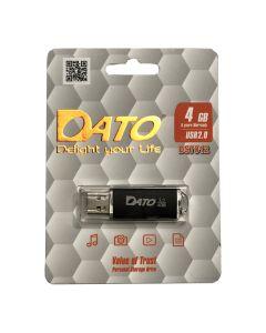 Флешка Dato 4Gb DS7012 Black
