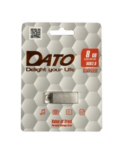Флешка Dato 8Gb DS7002 USB 2.0 Silver