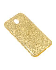 Чехол накладка Dream Case для Samsung J5-2017/J530 Gold