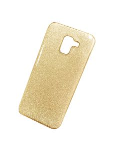Чехол накладка Dream Case для Samsung J6-2018/J600 Gold