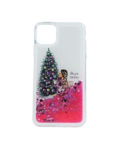Чехол Girls Christmas Aqua Series для iPhone 11 Pro №4