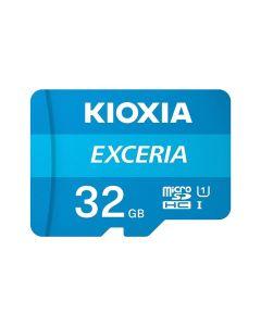 Карта памяти Kioxia Exceria 32GB microSDHC Class 10 UHS-I + SD Adapter