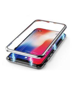 Чехол Magnet 360 Case iPhone XR Silver