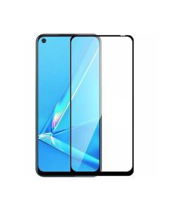Защитное стекло для Oppo A52/A72/A92 3D Black (тех.пак)