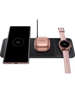 Беспроводное зарядное устройство Samsung 3 in 1 Black (EP-P6300TBRGRU)