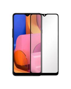 Защитное стекло для Samsung A20s-2019 3D Black (тех.пак) Ceramics