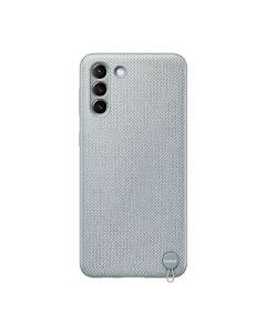 Чехол накладка Samsung G996 Galaxy S21 Plus Kvadrat Cover Mint Gray (EF-XG996FJEG)