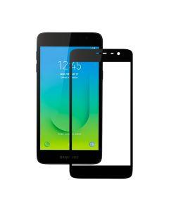 Защитное стекло для Samsung J2 Core-2018/J260 3D Black (тех.пак)