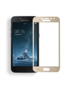 Защитное стекло для Samsung J2 Pro 2018/J2 2018/J250 3D Gold (тех.пак)