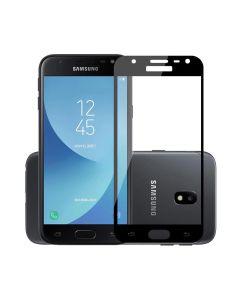 Защитное стекло для Samsung J5-2017/J530 3D Black (тех.пак)
