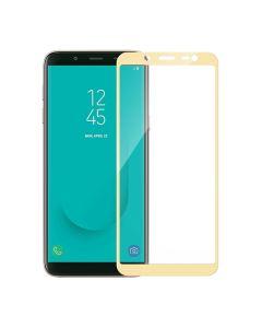 Защитное стекло для Samsung J6-2018/J600 3D Gold