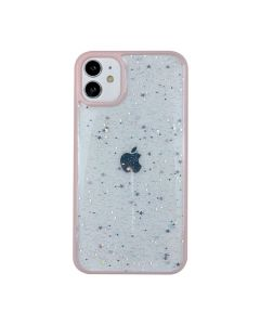 Чехол Shiny Stars Case для iPhone 12/12 Pro Pink