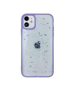 Чехол Shiny Stars Case для iPhone 12 Mini Purple