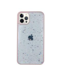Чехол Shiny Stars Case для iPhone 12 Pro Max Pink