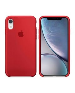 Чехол Soft Touch для Apple iPhone XR Camellia Red