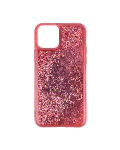 Чехол Sparkle Glitter Case для iPhone 12 Mini Red