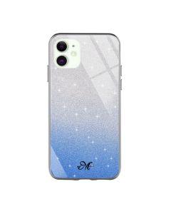 Чехол Swarovski Case для iPhone 12 Mini Blue