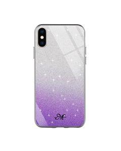 Чехол Swarovski Case для iPhone XR Violet
