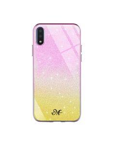 Чехол Swarovski Case для Samsung A01-2020/A015 Violet/Yellow